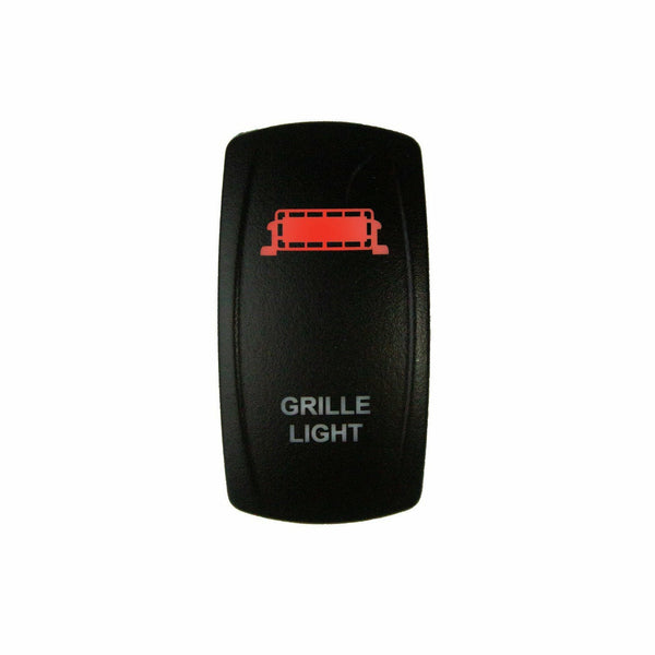 DragonFire Racing Laser-Etched Dual LED Grille Light On/Off Switch - Kombustion Motorsports
