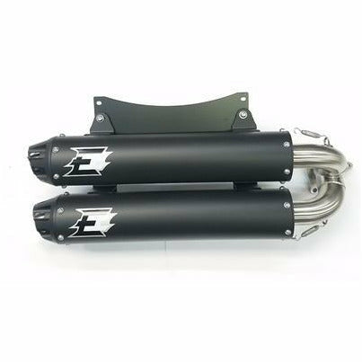 Empire Industries DualSlip On Exhaust for Polaris RS1 - Kombustion Motorsports