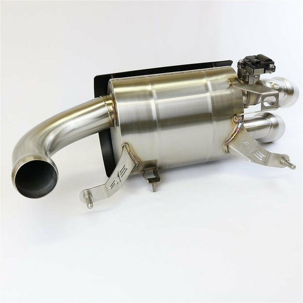 Evolution Powersports Polaris RZR PRO XP Captain's Choice Exhaust - Kombustion Motorsports
