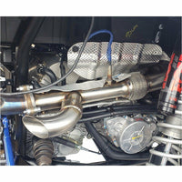 "EVOLUTION POWERSPORTS RZR XP TURBO ""SHOCKER"" ELECTRIC SIDE DUMP EXHAUST - Kombustion Motorsports"