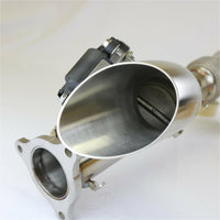 Evolution Powersports RZR XP Turbo Shocker Electric Side Dump Exhaust - Kombustion Motorsports