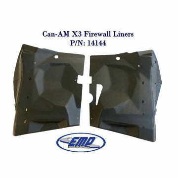 Extreme Metal Products Can-Am Maverick X3 Firewall Liners