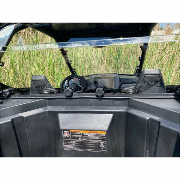 Extreme Metal Products RZR Pro XP Cab Back / Dust Stopper (Hard Coated Polycarbonate) - Kombustion Motorsports