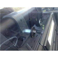 Extreme Metal Products RZR XP 1000 Cab Back / Dust Stopper (polycarbonate) - Kombustion Motorsports