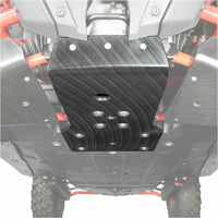 Factory UTV Polaris RZR Pro XP UHMW Standalone Front Diff Skid Plate - Kombustion Motorsports