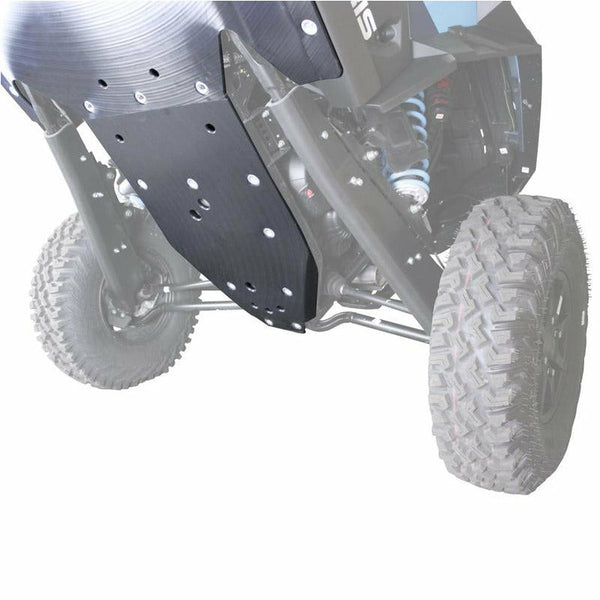 Factory UTV Polaris RZR XP 4 Turbo S UHMW Skid Plate - Kombustion Motorsports