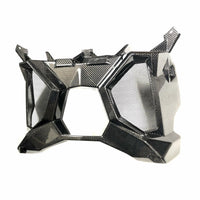 Four Werx CAN AM MAVERICK X3 CARBON FIBER EXHAUST SURROUND / REAR SHROUD - Kombustion Motorsports