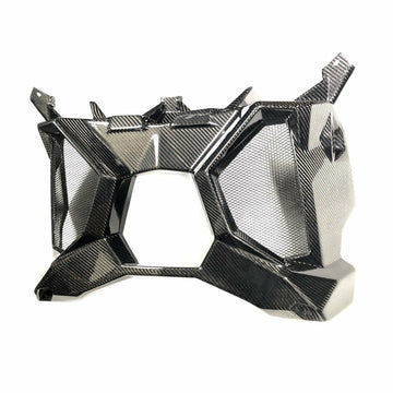 Four Werx CAN AM MAVERICK X3 CARBON FIBER EXHAUST SURROUND / REAR SHROUD
