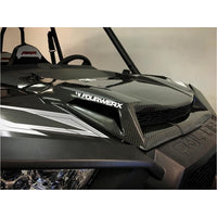 Four Werx Polaris POLARIS RZR1000/900S/900 CARBON FIBER SCOOPED HOOD - Kombustion Motorsports