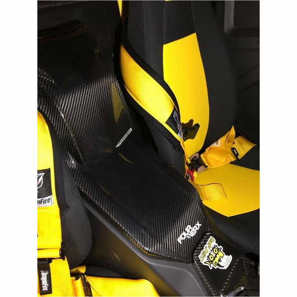 Four Werx Yamaha YXZ1000 R / RR Carbon Fiber Battery Box Trim - Kombustion Motorsports