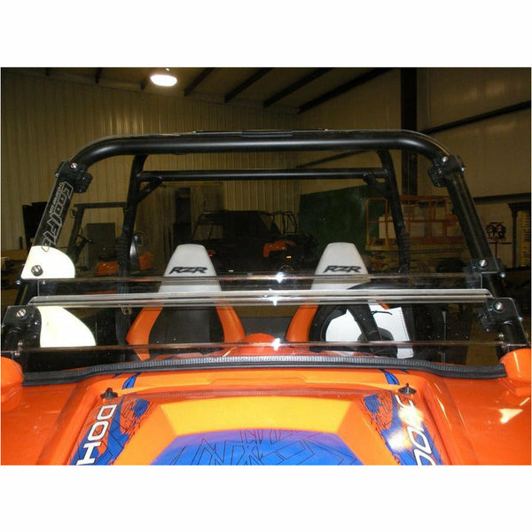 Trail Armor Polaris RZR 800, RZR S 800, RZR4 800, RZR XP 900, RZR4 XP 900, RZR 570, RZR S 570 CoolFlo Windshield with Fast Clamps