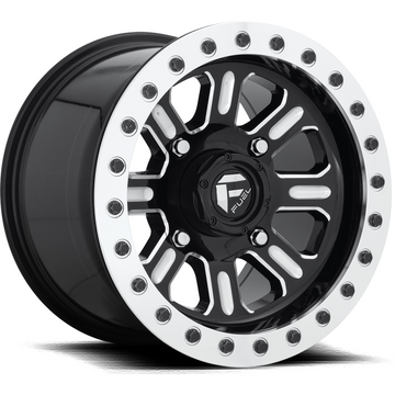 Fuel Off Road Hardline Beadlock D910 Gloss Black Milled