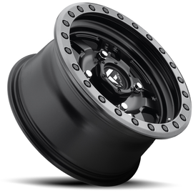 Fuel Off Road Anza D557 Matte Black With Anthracite Ring