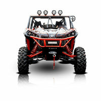 HMF Racing Defender HD Front Bumper - Can Am Maverick