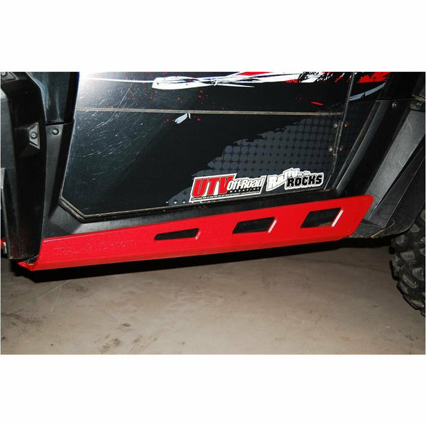 Trail Armor Polaris RZR 900/1000 S Full Skids w/Slider Nerfs or Trimmed for Kick Out Steel Rock Sliders