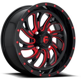 Fuel Off Road Kompressor D642 Wheel Candy Red