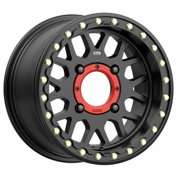 KMC Wheels KS235 Grenade Beadlock (Satin Black)