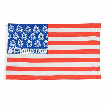 Kombustion Motorsports Patriotic Whip Flags