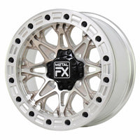 Metal FX Offroad Cast Assassin Beadlock Wheel - Raw - Kombustion Motorsports