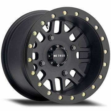 Method Race Wheels 406 UTV Beadlock | Matte Black