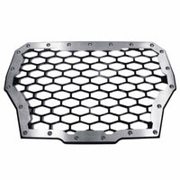 ModQuad RZR Turbo 2017 Front Grill, 2 Panel - Kombustion Motorsports