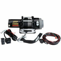 Moose Utilities 3500 lb Aggro Winch - Synthetic Rope - Kombustion Motorsports