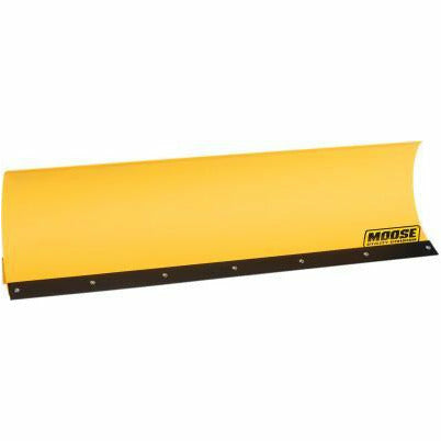 "Moose Utilities 60"" Straight Blade Plow Matte Finish - Kombustion Motorsports"