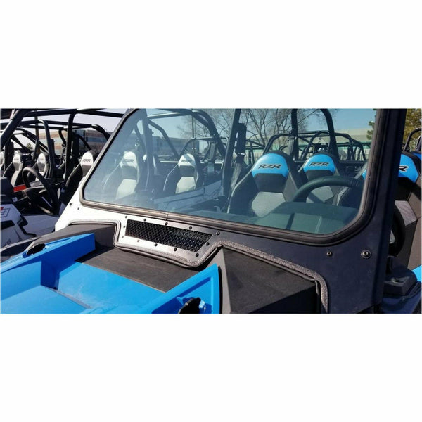MOTO ARMOR FULL GLASS WINDSHIELD FOR 2019 POLARIS RZR XP TURBO, XP 1000 - Kombustion Motorsports