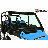 Moto Armor Full Glass Windshield - Polaris RZR Turbo S - Kombustion Motorsports