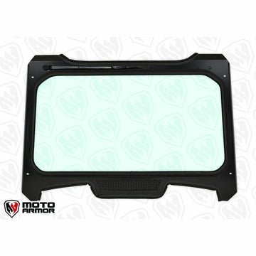 Moto Armor Full Glass Windshield - Polaris RZR Turbo S