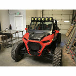 Moto Armor Glass Windshield for CageWRX Baja Spec Cage 2019+ RZR XP 1000/Turbo S - Kombustion Motorsports