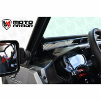 Moto Armor Vented Full Glass Windshield - Polaris General - Kombustion Motorsports