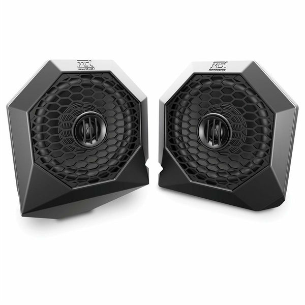 MTX Dash Mount All-Weather Speaker Pods (RZR 1000/900) - Kombustion Motorsports