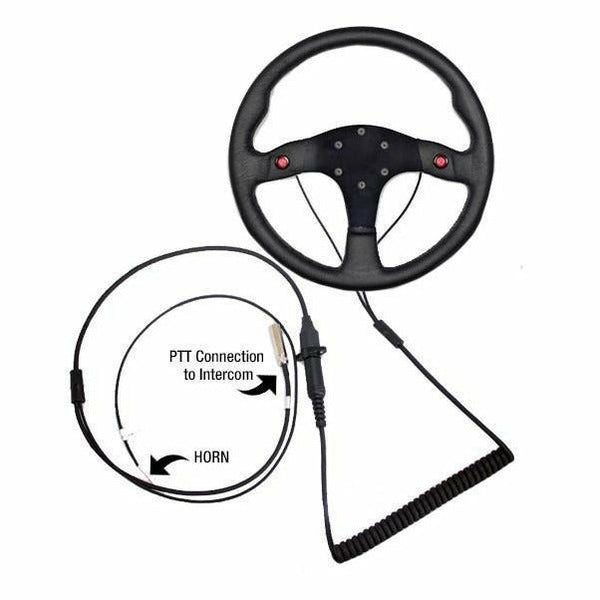 PCI QUICK DISCONNECT STEERING WHEEL TWO WIRES FOR PTT - Kombustion Motorsports