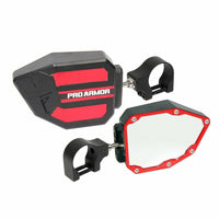 "Pro Armor Side View Mirrors 1.75"" Clamp - Kombustion Motorsports"
