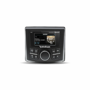 "Rockford Fosgate Marine Compact AM/FM/WB Digital Media Receiver 2.7"" Display"