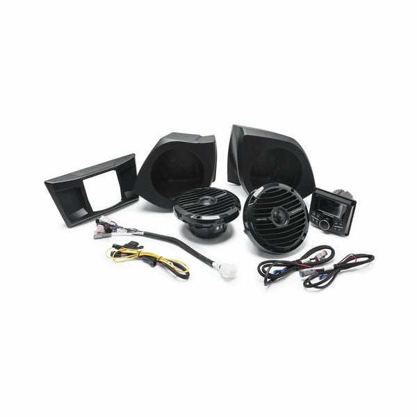 Rockford Fosgate YXZ Stage 3 Stereo and Front Speaker Kit for select YXZ® models - Kombustion Motorsports