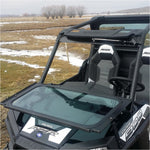 Ryfab RZR 900/1000 Folding Vented Glass Windshield - Kombustion Motorsports