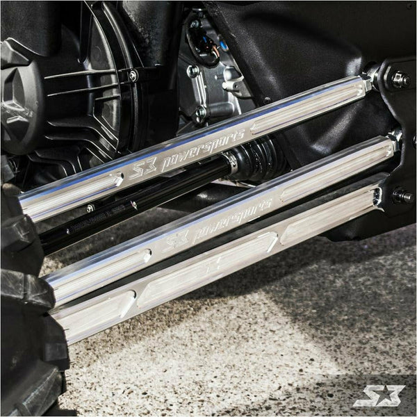 "S3 Power Sports Can-Am Maverick X3 64"" HD High Clearance Billet Aluminum Radius Rods - Kombustion Motorsports"