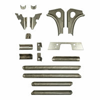 S3 Power Sports Can-Am Maverick X3 Chassis Weld-In Gusset Kit - Kombustion Motorsports
