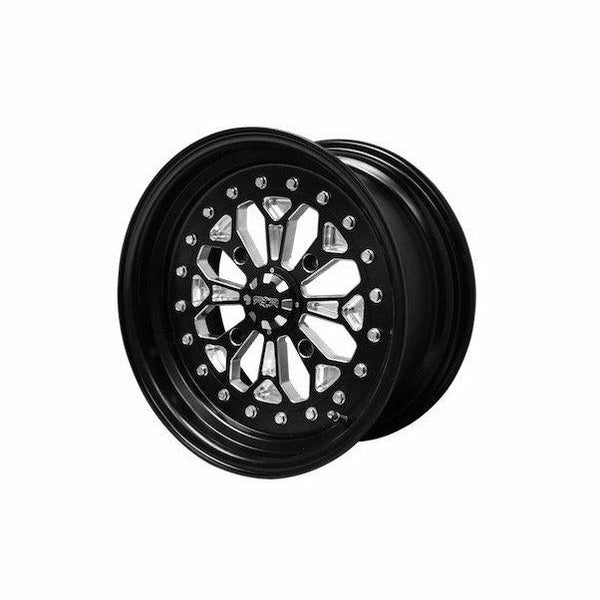 "Sandcraft Nomad Billet 3 piece 15"" wheels - Kombustion Motorsports"