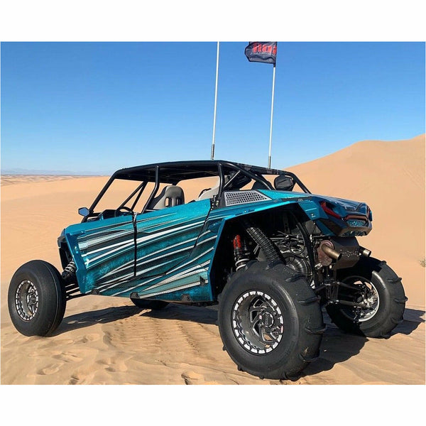 SDR Motorsports Fastback Shorty Cage | Polaris RZR XP4 1000/Turbo/Turbo S - Kombustion Motorsports