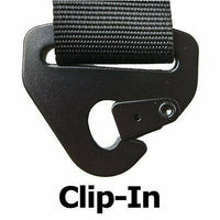 "Simpson Racing D3 Harness 2"" - Black Hardware - Clip In - Kombustion Motorsports"