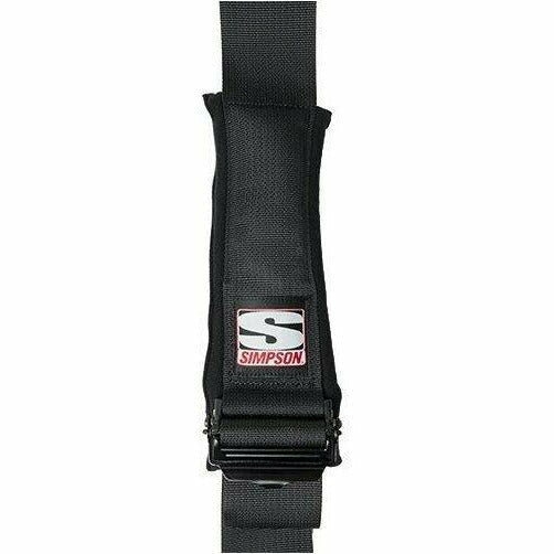 "Simpson Racing D3 Harness 3"" - Black Hardware - Clip In - Kombustion Motorsports"