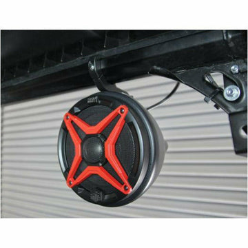 "SSV Works Polaris General Cage Mount Pods Including Clamps with 120 watt 6 1/2"" inch Speakers"