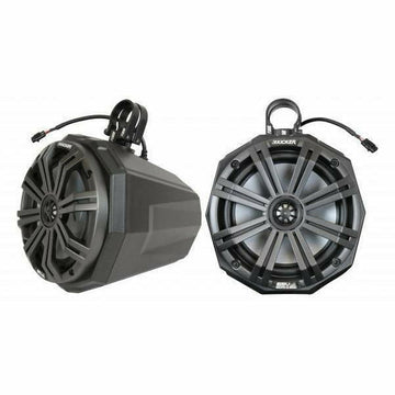 "SSV Works Universal 8"" Cage Mount Speaker Pods Including Dual Clamps"