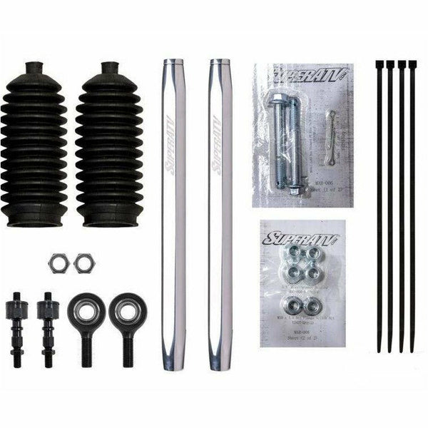 SuperATV Can Am Defender Billet Aluminum Hex Tie Rod Kit - Kombustion Motorsports
