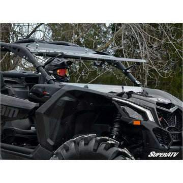 SuperATV Can-Am Maverick X3 Flip Windshield