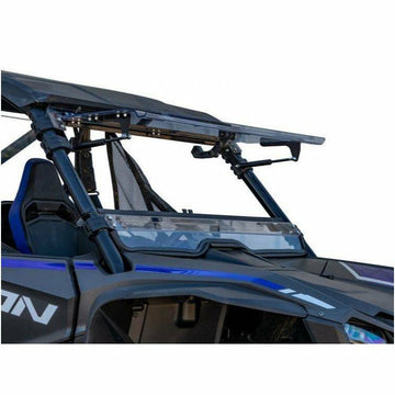 SuperATV Honda Talon 1000 Scratch Resistant Flip Windshield