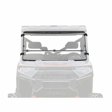 SuperATV Polaris Ranger XP 1000 Scratch Resistant Flip Down Windshield